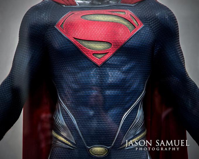 man-of-steel-screen-used-costume-680 & Jason Samuel Photography | Henry Cavill Superman Costume | Man of Steel